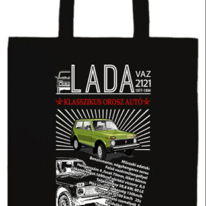 Lada Niva- Basic hosszú fülű táska