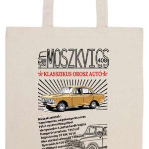 Moszkvics 408- Prémium hosszú fülű táska