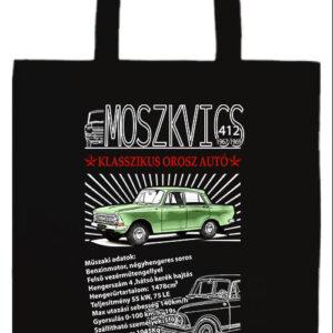 Moszkvics 412- Basic hosszú fülű táska