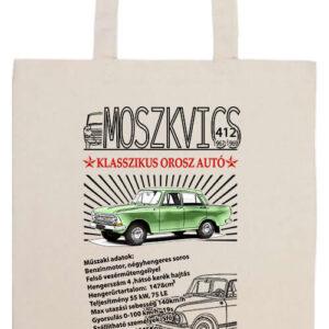 Moszkvics 412- Prémium hosszú fülű táska