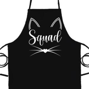Cica squad- Prémium kötény