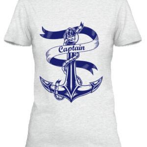 Captain Vasmacska – Női póló