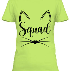 Cica squad – Női póló