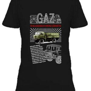GAZ 66 – Női póló