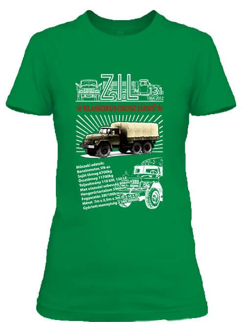 Női póló ZIL 131 élénkzöld