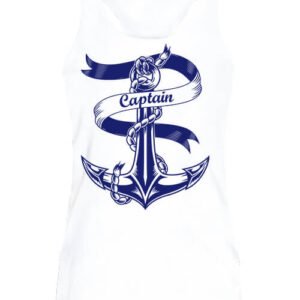 Captain Vasmacska – Női ujjatlan póló