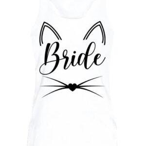 Cica bride – Női ujjatlan póló