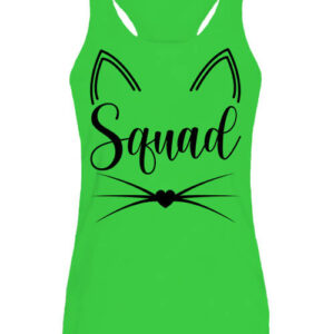 Cica squad – Női ujjatlan póló