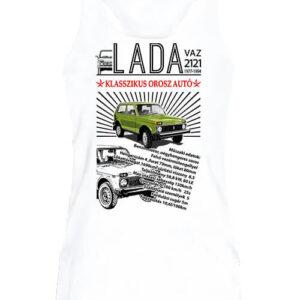 Lada Niva – Női ujjatlan póló