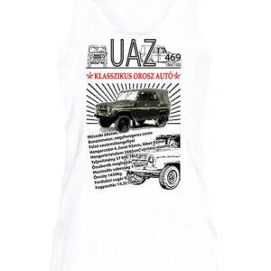 UAZ 469 – Női ujjatlan póló