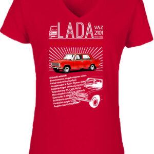 Lada 2101 – Női V nyakú póló