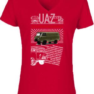 UAZ 452 katonai – Női V nyakú póló