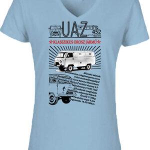 UAZ 452 – Női V nyakú póló