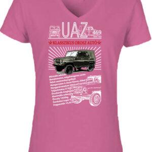 UAZ 469 – Női V nyakú póló