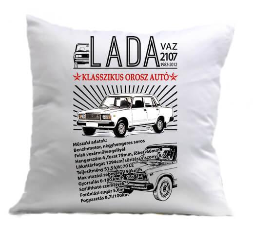 Párna Lada 2107 fehér
