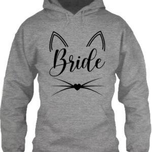 Cica bride – Unisex kapucnis pulóver