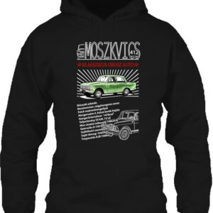 Moszkvics 412 – Unisex kapucnis pulóver