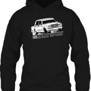 Rally Lada – Unisex kapucnis pulóver