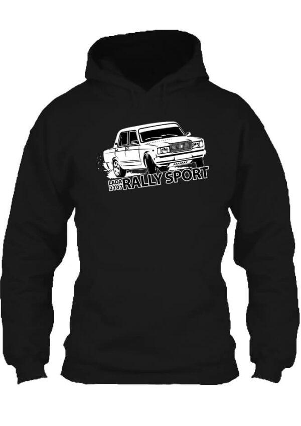 Pulóver Rally Lada fekete