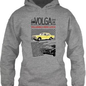 Volga M24 – Unisex kapucnis pulóver