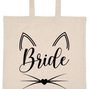 Cica bride- Basic rövid fülű táska