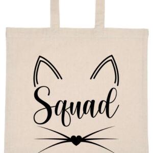Cica squad- Basic rövid fülű táska