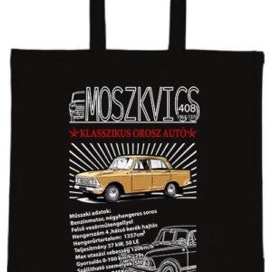 Moszkvics 408- Basic rövid fülű táska