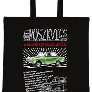 Moszkvics 412- Basic rövid fülű táska