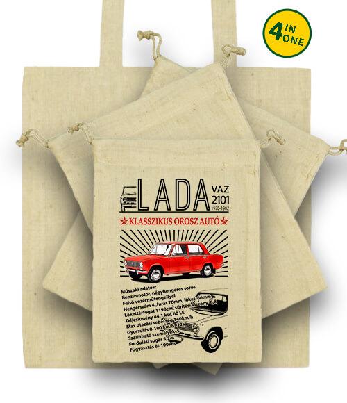 Táska szett Lada 2101 natúr