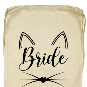 Cica bride- Basic tornazsák
