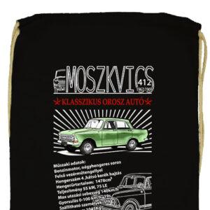 Moszkvics 412- Basic tornazsák