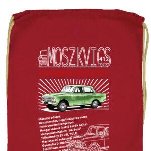 Moszkvics 412- Prémium tornazsák
