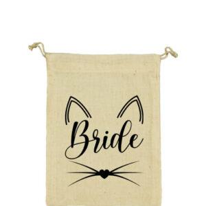 Cica bride – Vászonzacskó közepes
