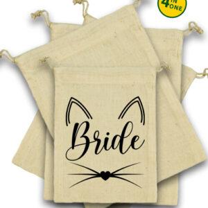 Cica bride – Vászonzacskó szett