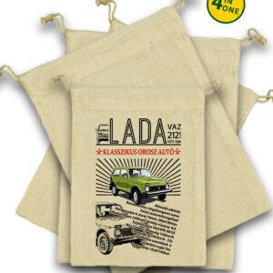 Lada Niva – Vászonzacskó szett