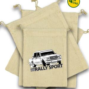 Rally Lada – Vászonzacskó szett