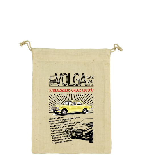 Vászonzacskó Volga M24 natúr