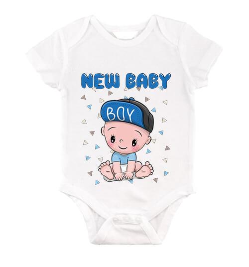 Baby body New baby boy fehér