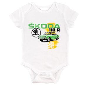 Skoda 110 R zöld – Baby Body
