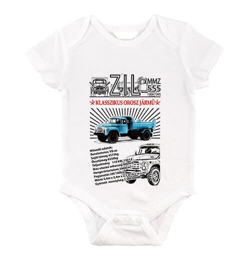 baby body ZIL 555 fehér