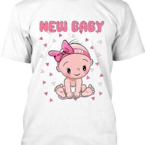 New baby girl – Férfi póló