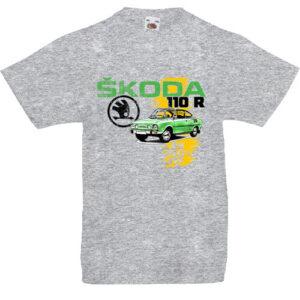 Skoda 110 R zöld- Gyerek póló