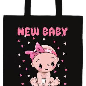 New baby girl- Basic hosszú fülű táska