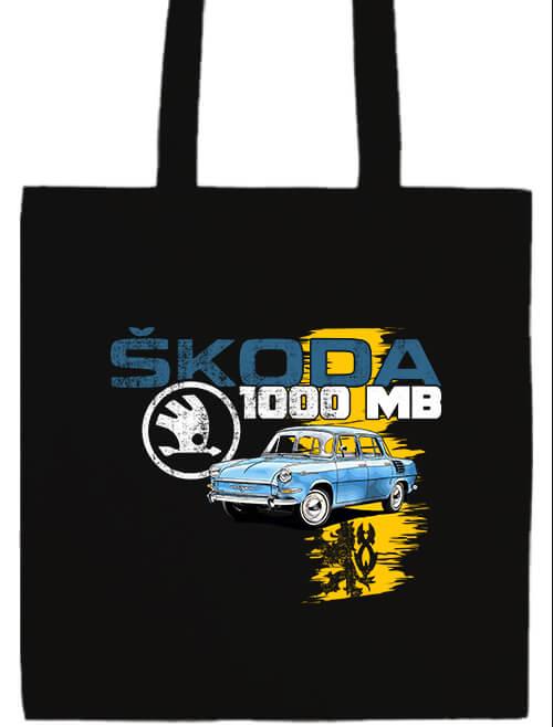 Hosszú fülű táska Skoda 1000 MB fekete