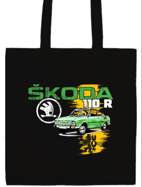 Hosszú fülű táska Skoda 110 R zöld fekete