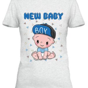 New baby boy – Női póló