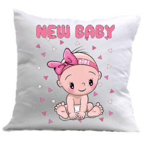 New baby girl – Párna