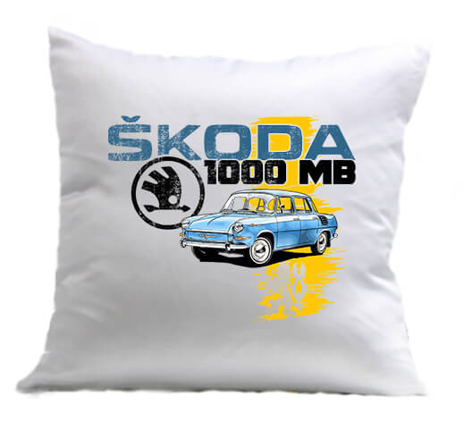 Párna Skoda 1000 MB fehér