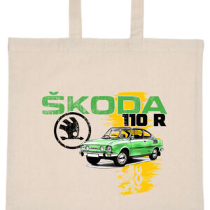 Skoda 110 R zöld- Basic rövid fülű táska