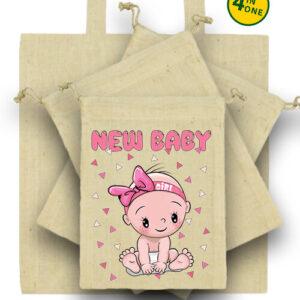New baby girl – Táska szett